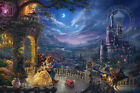 Thomas Kinkade Beauty and the Beast Dancing 18 x 27 S/N LE Paper Disney