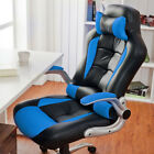 Computer Gaming Chair Sports Racing Chair Ribbed Home Office Executive 7 Colors