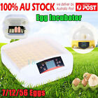 FARM DIGITAL AUTOMATIC CHICKEN 7/12/56 EGG INCUBATORS POULTRY FULLY HARCHER DH
