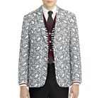 Black Fleece Brooks Brothers Paisley Laced Celebrity Sport Coats Jacket Blazer
