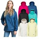 Trespass Nasu II Womens Waterproof Jacket Ladies Raincoat with Hood