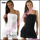 Sexy Women's Mini Dress Casual Summer Ladies Short Dress One Size 6,8,10 UK
