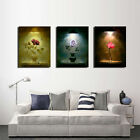 Framed Printed Picture Abstract Rose Flower  Art Wall Canvas home Decor poster