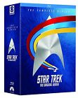 Star Trek Original Series TOS All Seasons Episodes Complete Series Blu-ray Set