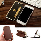 "PU Leather Skin Stand Case for Apple iPhone 4.7'' & 5.5"" Flip Cover Folio Book"