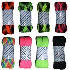 "COLORFUL WIDE ROLLER SKATE LACES 3/4"" WIDE 72"" LONG - SOLD AS A PAIR"