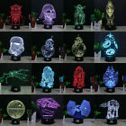 Star Wars Death Star 3D Acrylic LED 7 Color Night Light Touch Table Desk Lamp $23.22 CAD on eBay