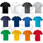 10er Set Herren T-Shirts Fruit of the Loom Unisex S M L XL XXL 12 Farben NEU