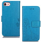 Luxury Soft Leather Case Stand Strap Cover Card Holder For iPhone Accessories