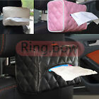 PU Leather Tissue Box Cover Home Car Napkin Toilet Paper Holder Case