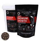Koi Carp Food - High Protein Floating Feed - Premium Growth by Cuttlebrook Koi