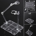 Clear Plastic Action Base Display Stand for Gundam 1 144 Figure Hook Hobby