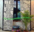 Wholesale Lot Tie Dye Curtains Window Hanging Scarf Drape Panels Mandala Curtain cheap