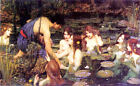 Pre-Raphaelite Mythology Art Print: Hylas and the Nymphs by John Waterhouse