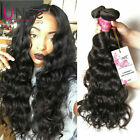 3 Bundles/300g Brazilian Natural Wave Human Hair UNice 8A Virgin Wavy Hair Weave