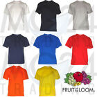 Fruit of the Loom 10er Set Herren T-Shirts Unisex S M L XL XXL 8 Farben NEU