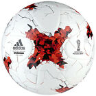 adidas Conferderations Cup Official Match Soccer Ball White/Red/Power Red AZ3183