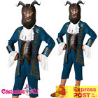 Kids Deluxe Beast Disney Live Action Boys Beauty And The Beast Costume + Mask