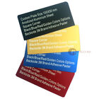 Personalized Anodized Aluminium Nameplate Custom Engraved Lable Tag Plaque Plate