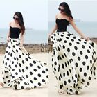 Ladies Women Long Boho Maxi Chiffon Dresses Formal Party Prom Summer Beach Dress