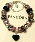 NEW Authentic PANDORA 925 Silver BRACELET with European Charm Beads #3