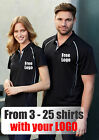 From 3 - 25 shirts Ladies Resort Polo with Your Embroidered LOGO (Biz P604LS)