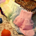 Baby Kids Toddler Girls Socks Breathable Soft Cotton Cute Lace New Fashion Hot