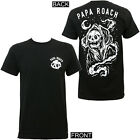 Authentic PAPA ROACH Band Nightreaper Slim-Fit T-Shirt S M L XL 2XL NEW