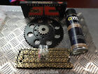 PULSE ADRENALINE 125 QM125GY 2B  JT GOLD CHAIN AND SPROCKETS ALL MODELS