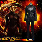 DFYM The Hunger Games 3 Flame Girl Cosplay Costume Mockingjay Outfit Black