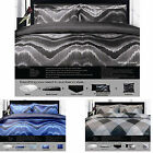 8 Pce - Midnight Or Arygles Quilt Cover + 200gsm Quilt + FITTED+4 P/CASES+CUSHIO