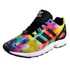 Adidas Originals ZX Flux Junior Kids Classic Casual Retro Trainers Multicolour