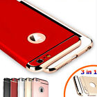 For iPhone 6S 7 Plus Luxury Shockproof Hybrid Electroplate Slim Hard Case Cover