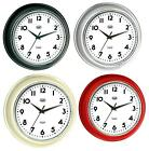 Trevi Oversized Retro Wall Clock Quartz Silent Sweep Movement FREE DELIVERY