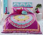 GORGEOUS PAISLEY MANDALA PINK duvet Cover with Pillowcases all sizes