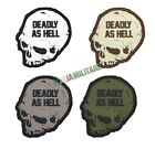 Patch Toppa in Pvc Deadly as Hell - Vari Colori