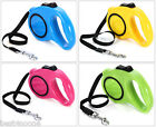 5m One-handed Lock Retractable Pet Leash Walking Dog Lead Push-button