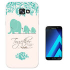 291 Elephants Family Quote Case Gel Cover For ipod iphone LG HTC Samsung S8