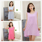 Pure Color Hot Milk Wire Women's Nightdresses Sleepshirt Sleepwear Nightshirt