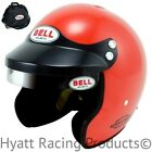 Bell Sport Mag Auto Racing Helmet Snell SA2015 (Free Bag) - Small / Orange