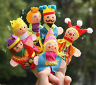 Cartoon Animals Finger Puppets Plush Cloth Doll Baby Educational Hand Kids Toy