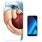 2041 Cricket Ball Bowler Sports Case Gel Cover For ipod iphone LG HTC Samsung S8
