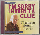 I'm Sorry I Haven't A Clue Chairman Humph A Tribute CD Audio BBC Radio 4 Comedy