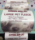 DOG PUPPY BLANKET LARGE FLEECE BED SUPER SOFT ALSO FOR CATS KITTENS 4 COLOURS
