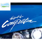 Decoration The spirit of Competition Auto Brow Cover Sports Sticker Car Styling