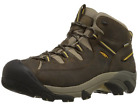 KEEN Men's Targhee II Mid WP Hiking Shoe, Black Olive/Yellow-1002375-NIB