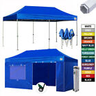 Heavy Duty Ez Pop Up Canopy 10x20 Commercial Outdoor Part...