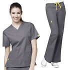 WonderWink Women's Scrub Set (Origins) TOP 6016 / PANT 5026 (All Colors&Sizes)