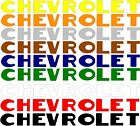 1947 1948 1949 1950 1951 1952 1953 chevrolet tailgate tail gate decal sticker