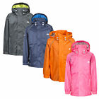 Trespass Neely II School Waterproof Jacket Boys Girls Raincoat Navy Pink Grey